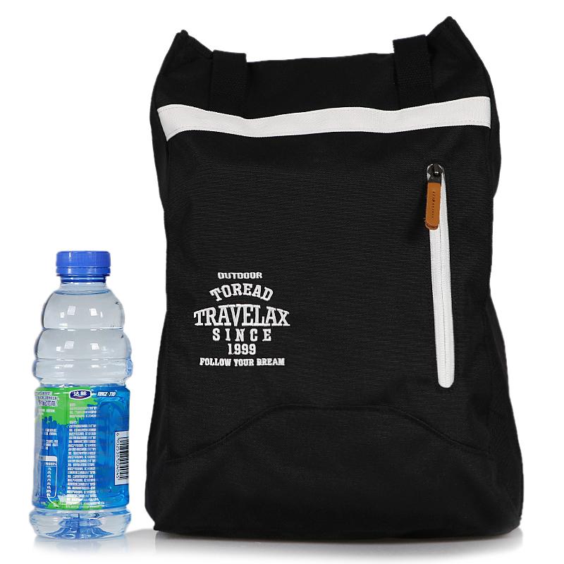 探路者男包女包  户外运动包肩带可调节15升双肩背包学生书包ZEBG80346-G01G