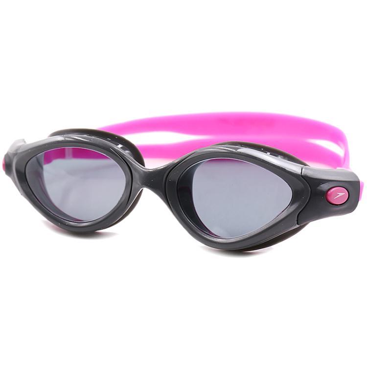 速比涛speedo速比涛高清防雾防水游泳镜大框大视野游泳眼镜8-10895B566