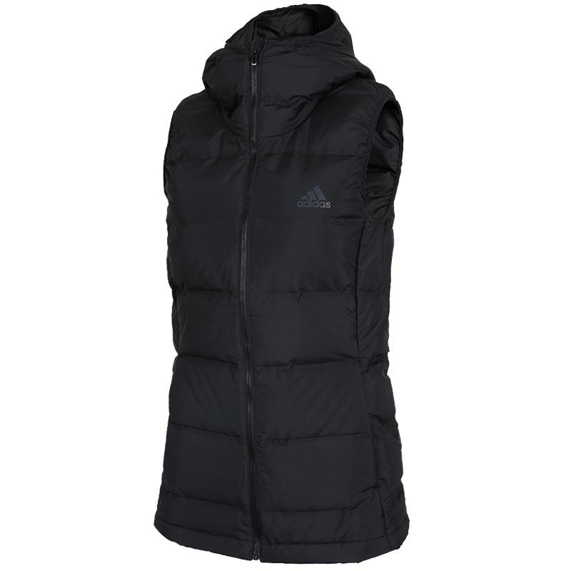 Adidas 阿迪达斯 女子 2020冬季新款运动背心保暖休闲羽绒服马甲 BQ1943