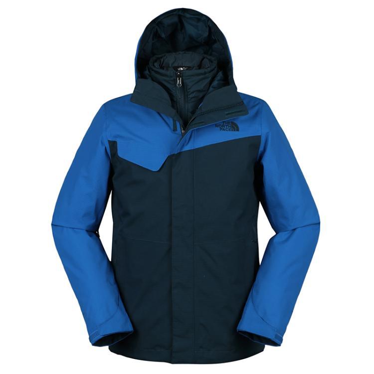 北面 The North Face 男子 三合一防泼水保暖透气冲锋衣 2UC37GB