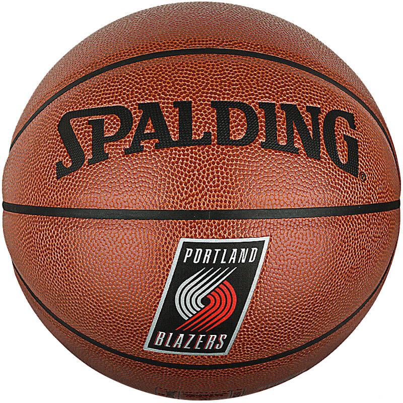 斯伯丁(SPALDING)NBA开拓者队达米恩利拉德签名PU篮球76-110Y