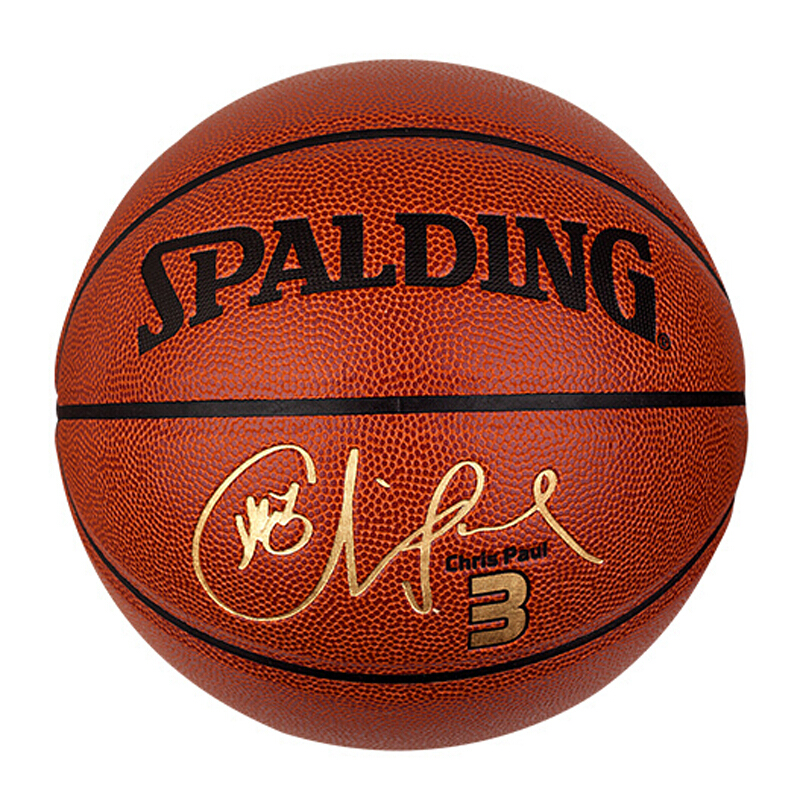Spalding斯伯丁篮球NBA球星签名款PU水泥地耐磨室内室外通用7号比赛训练lq 76-245Y