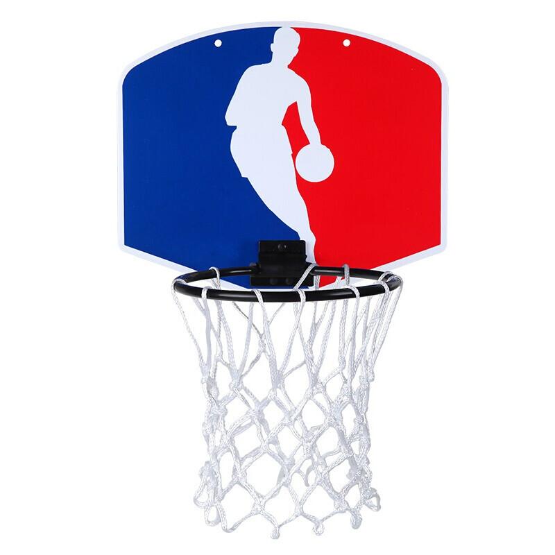 SPALDING斯伯丁 2019春季 NBA勇士队徽迷你室内户外壁挂式篮筐运动小篮板77-602Y