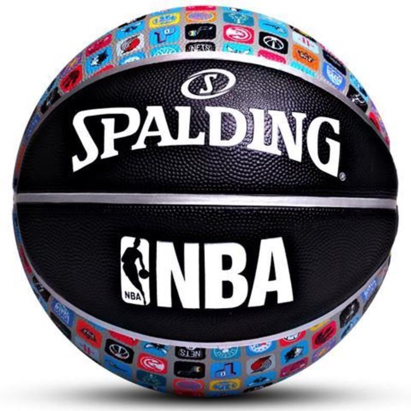 斯伯丁SPALDING  NBA队徽 ICON系列室外橡胶篮球 83-649Y