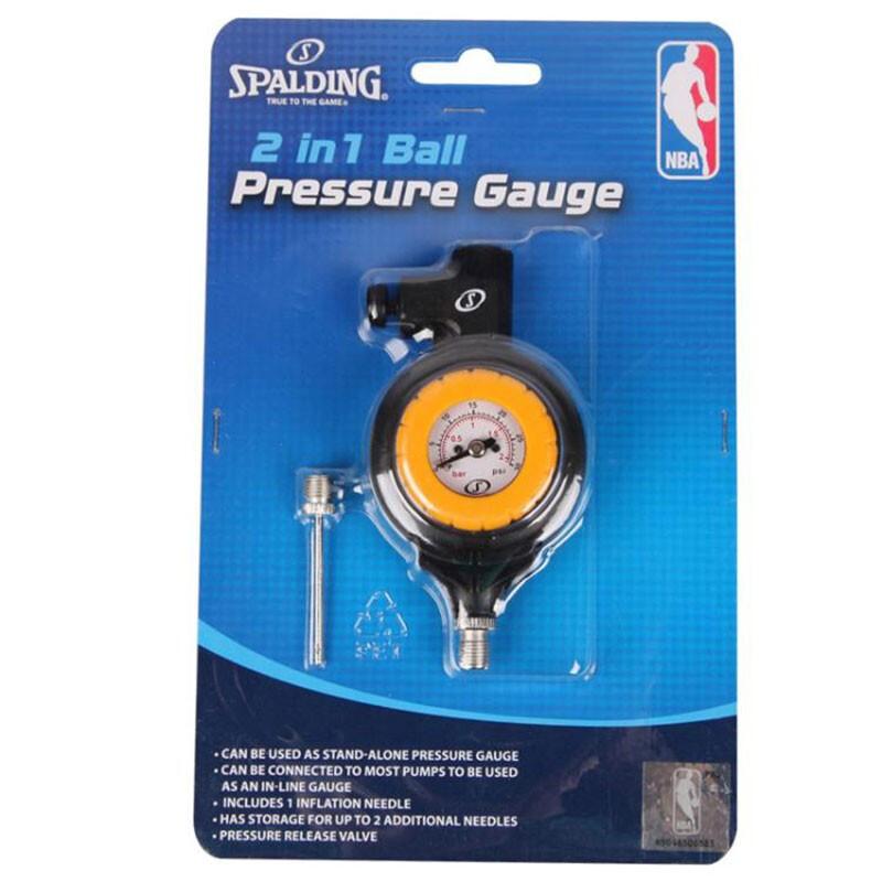 Spalding斯伯丁篮球足排球测压表多功能气压表8486SCN 8486SCN MISC