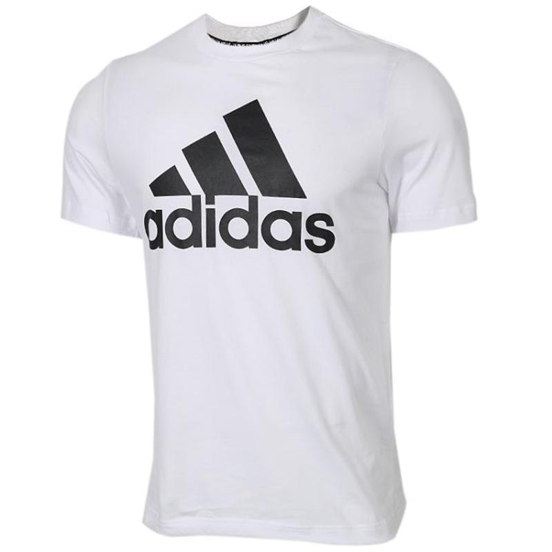 阿迪达斯Adidas  男子 休闲透气舒适透气短袖时尚大logo圆领半袖T恤 DT9929