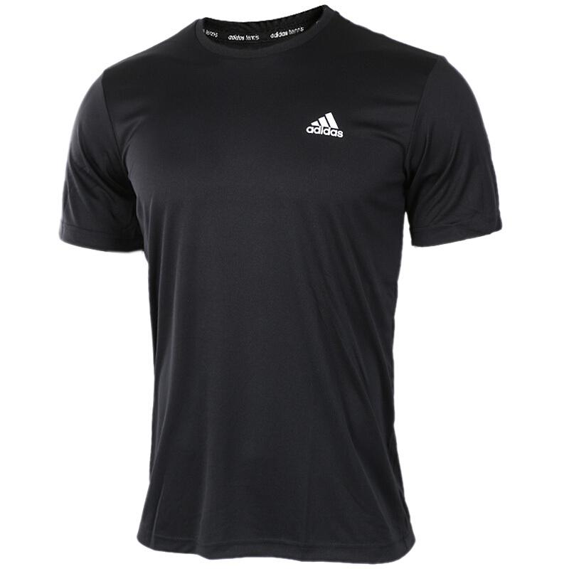 阿迪达斯 Adidas APPROACH TEE 男子 跑步训练体恤透气时尚圆领学生休闲T恤上衣  AZ4076 AZ4077
