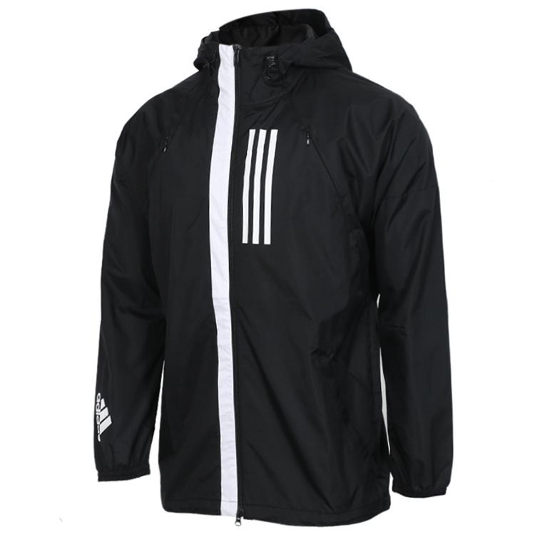 Adidas 阿迪达斯   W.N.D. JKT 男子运动夹克 DZ0047 DZ0048 DZ0051
