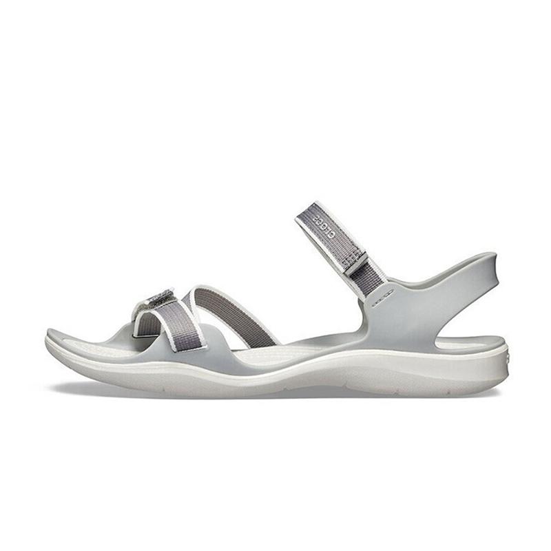 Crocs 卡骆驰 女子 激浪织带透气休闲舒适轻巧耐磨凉鞋 204804 204804-0CT