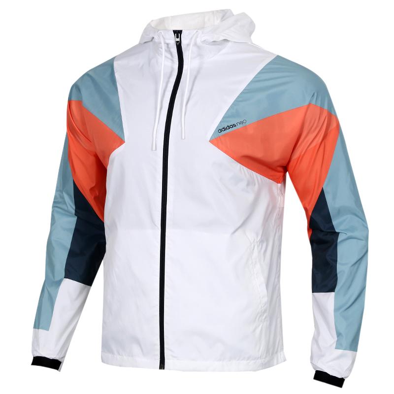 Adidas阿迪达斯neo 男子 防风夹克外套 DW8109