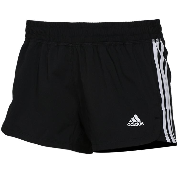 阿迪达斯Adidas 女子 休闲五分裤短裤 EC0475
