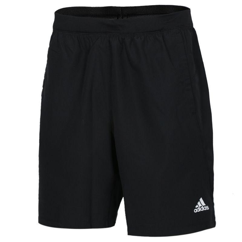 阿迪达斯adidas  男子  速干梭织短裤跑步运动五分裤 DU1577
