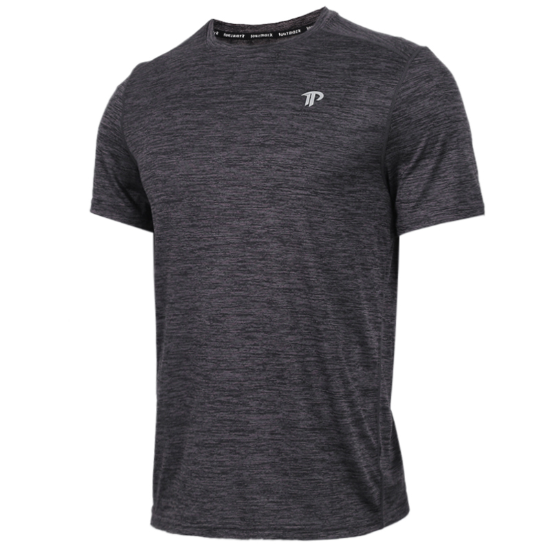 TOURMARK  男子 运动服跑步训练健身快干透气舒适休闲短袖T恤  T19201-04