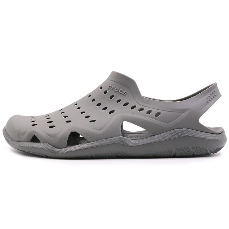 卡骆驰 Crocs 男子 激浪涉水鞋凉鞋 203963-0DA
