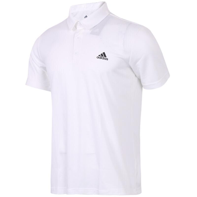 Adidas 阿迪达斯 FAB POLO 男子 高尔夫宽松半袖运动体恤休闲透气短袖t恤  CV8321