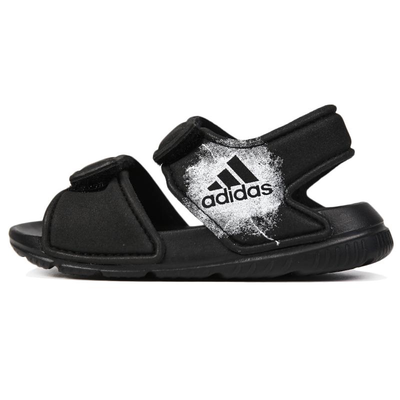 阿迪达斯 adidas 儿童 魔术贴沙滩凉鞋 BA9282