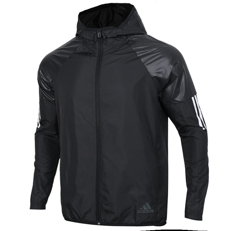 阿迪达斯 Adida  WIND FZ JKT 男子 休闲梭织夹克外套 DU1961