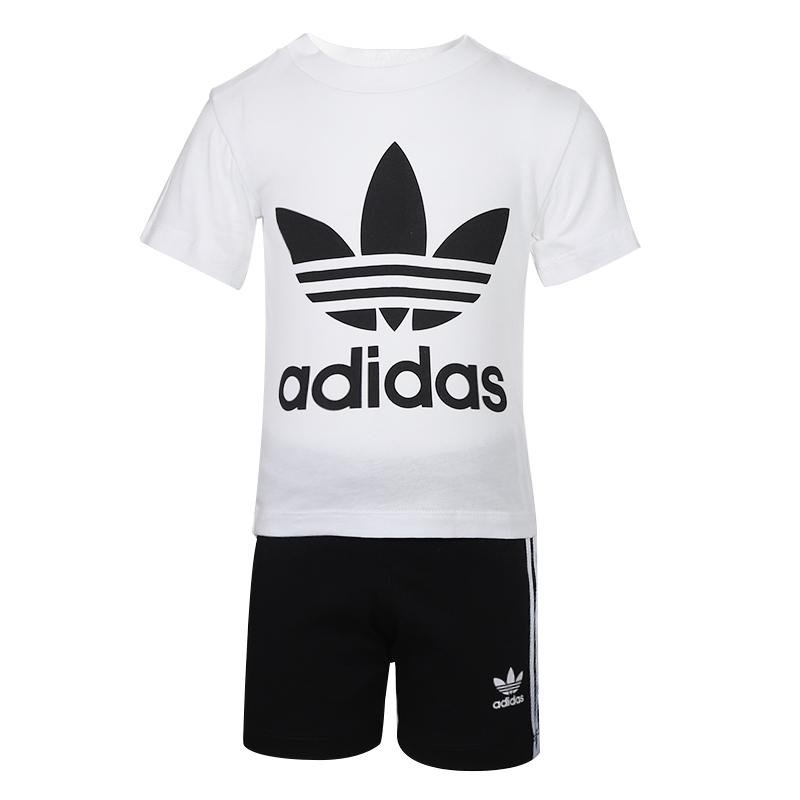 阿迪达斯三叶草 ADIDAS 儿童  短袖T恤 FI8318