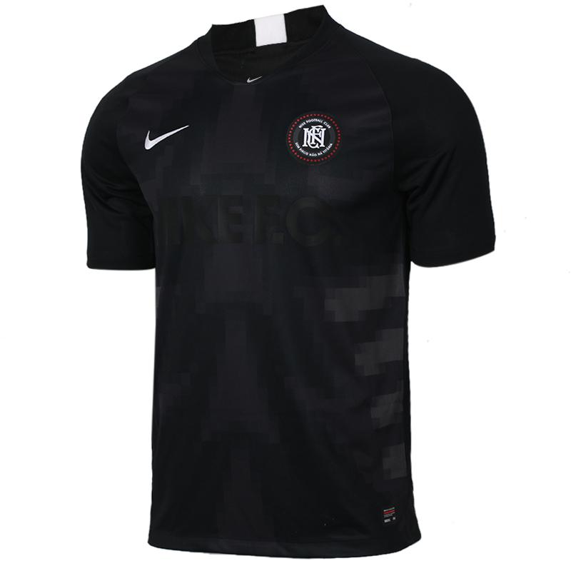 耐克 Nike 男子 休闲健身宽松跑步训练服运动T恤 AO0667-010
