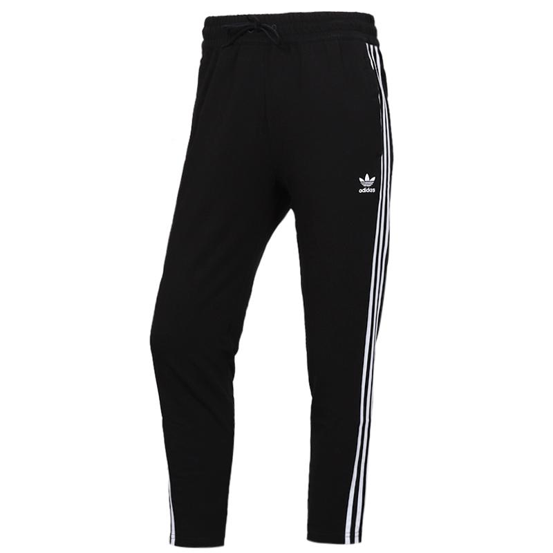 阿迪达斯三叶草 adidas PANTS 女子 运动裤跑步训练健身舒适透气休闲针织长裤 FL0047