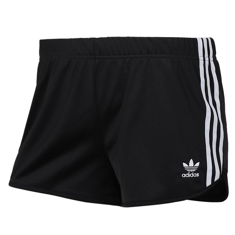 阿迪三叶草 adidas 3 STR SHORT 女子  梭织短裤 DV2555