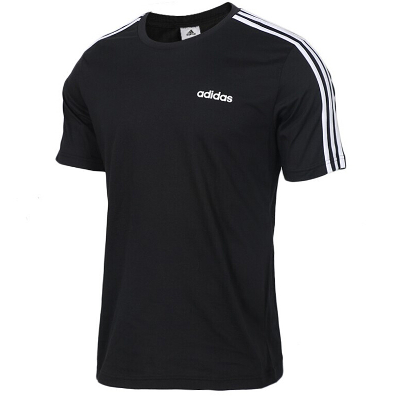 阿迪达斯Adidas  E 3S TEE 男子 运动服跑步透气舒适休闲大logo圆领短袖T恤 DQ3113