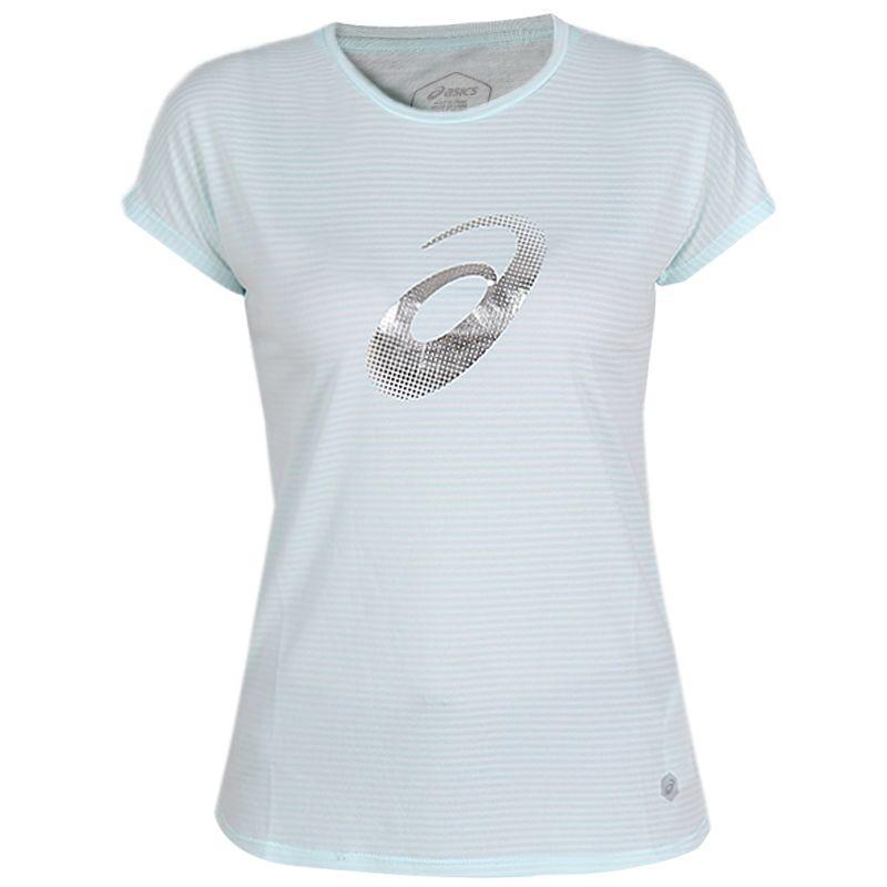 亚瑟士 ASICS  女子  短袖T恤 2012A136-400