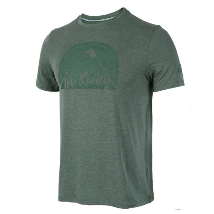 MCKINLEY肯励 男子 圆领休闲透气运动服短袖T恤267013-902510