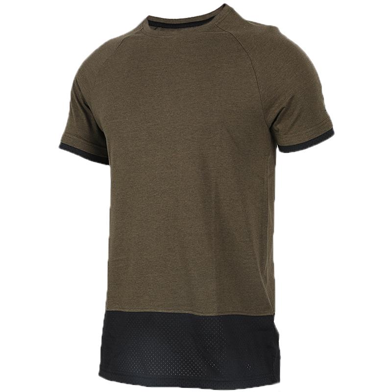 能量男子短袖春 透气吸湿排汗健身衣运动休闲T恤276647-902832