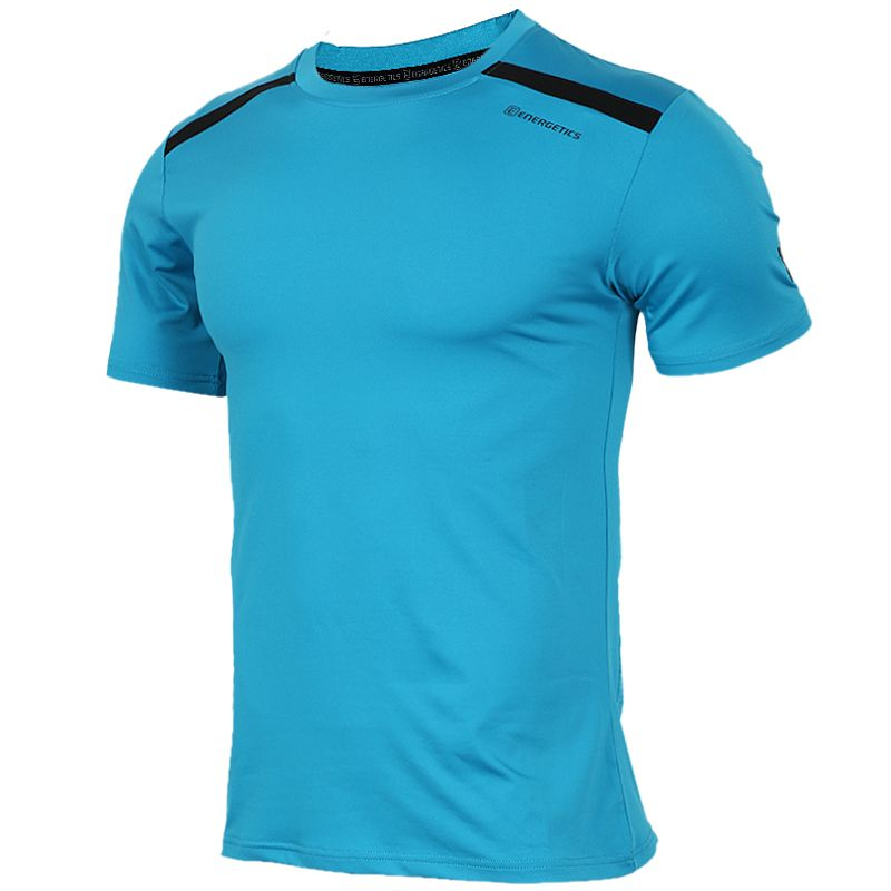 ENERGETICS  男装  运动透气跑步短袖T恤 276636-901565