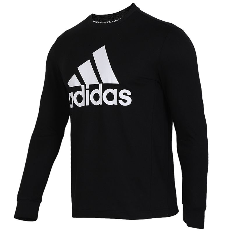 阿迪达斯 adidas 男子 透舒适气保暖针织圆领时尚套头衫 EB5266