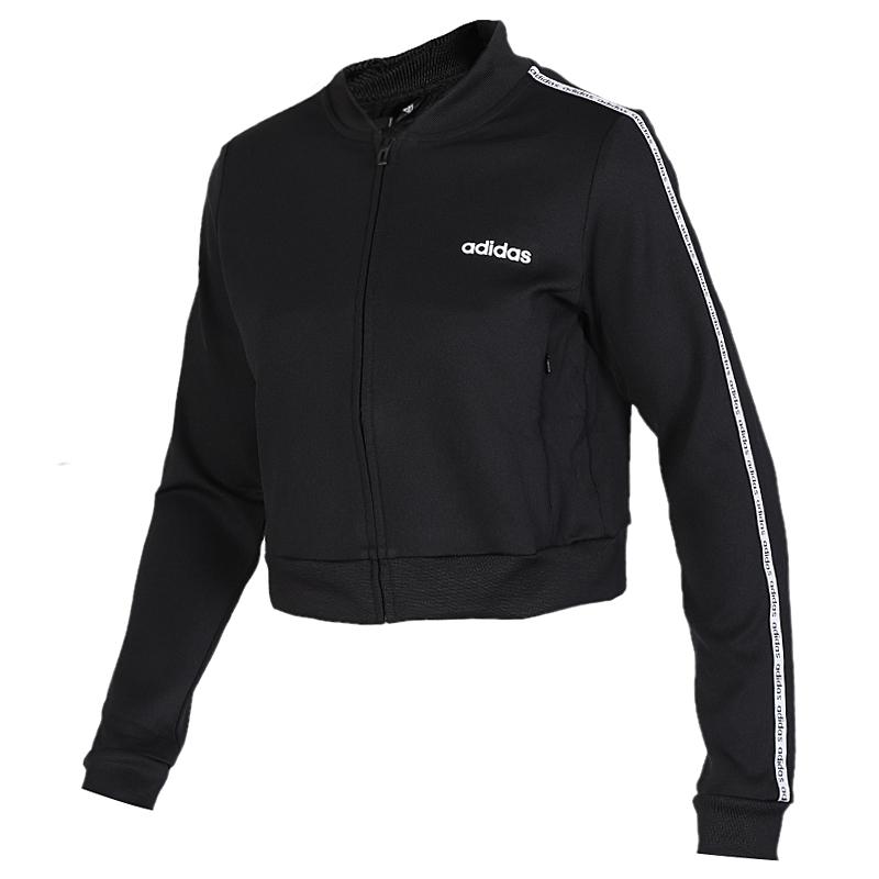 阿迪达斯 adidas C90 Tracktop 女子 运动服跑步训练健身衣舒适透气梭织立领夹克外套 EJ9669