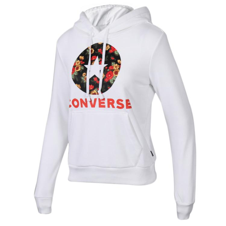 Converse 匡威 女子 休闲运动服卫衣套头衫10017331-A01
