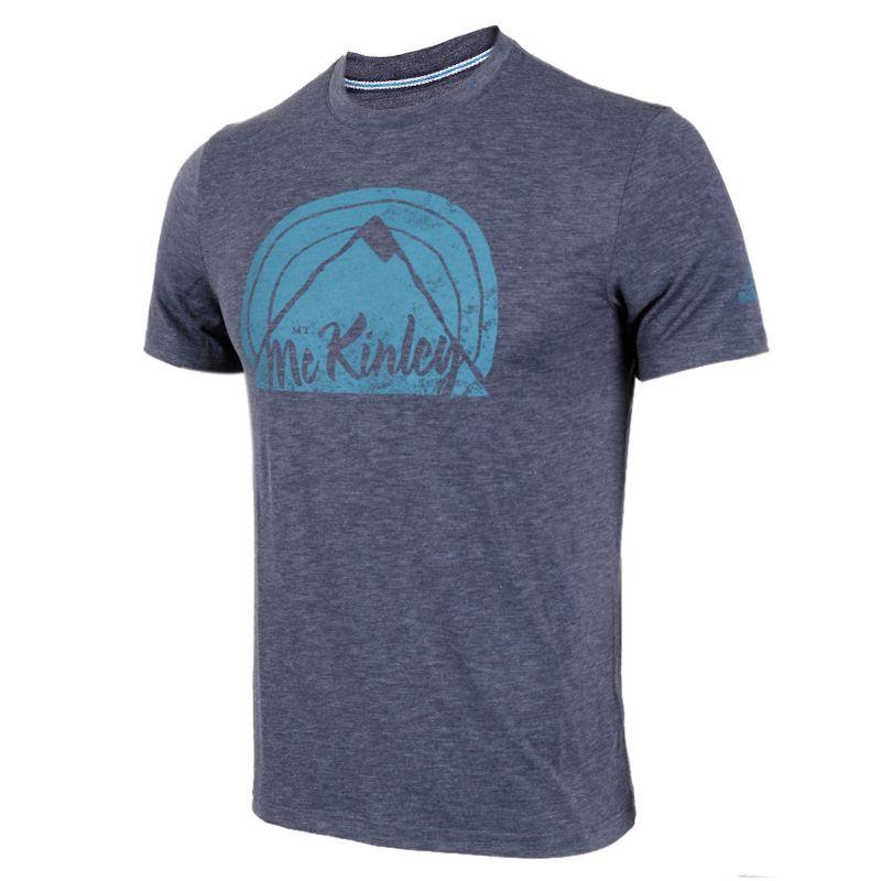 McKINLEY  男子 圆领休闲透气运动服短袖T恤 267013-900519