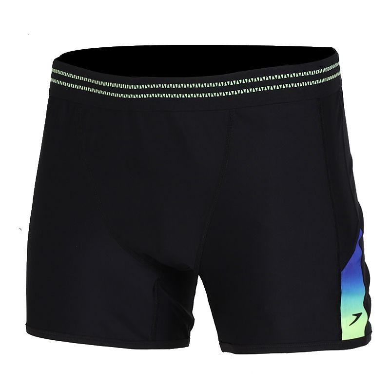 速比涛Speedo 男子印花平角泳裤 男子 泳装 平角泳裤 8-11747C713