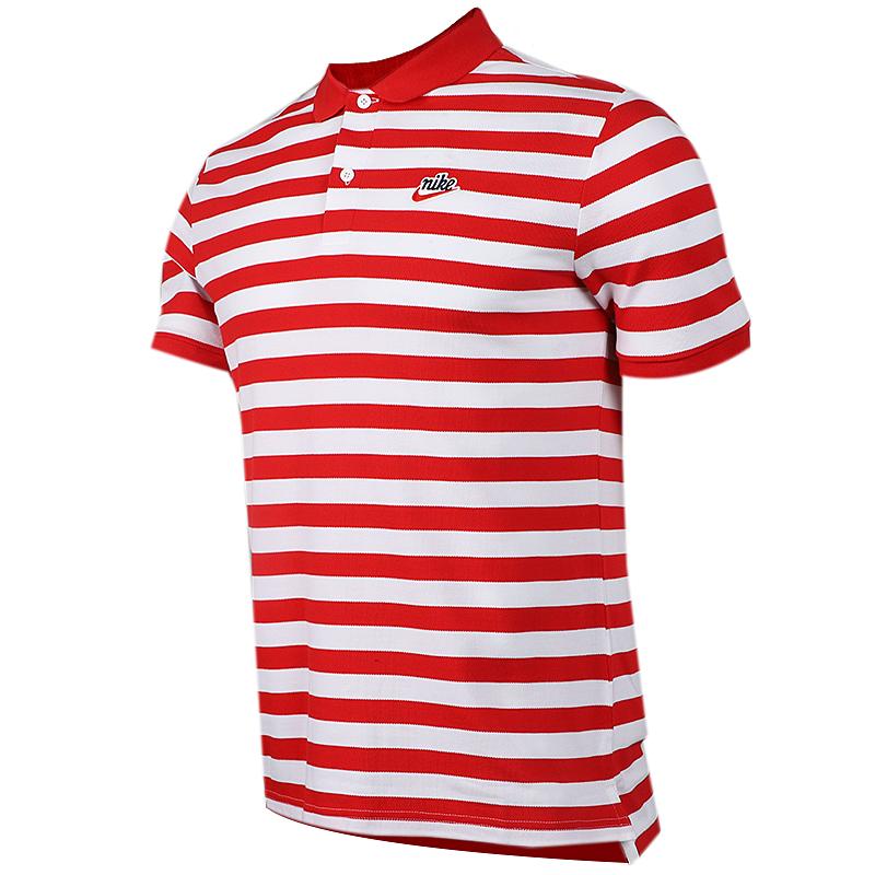 耐克 NIKE AS  NSW HE POLO PQ SCRIPT 男子 短袖T恤 BQ9075-657