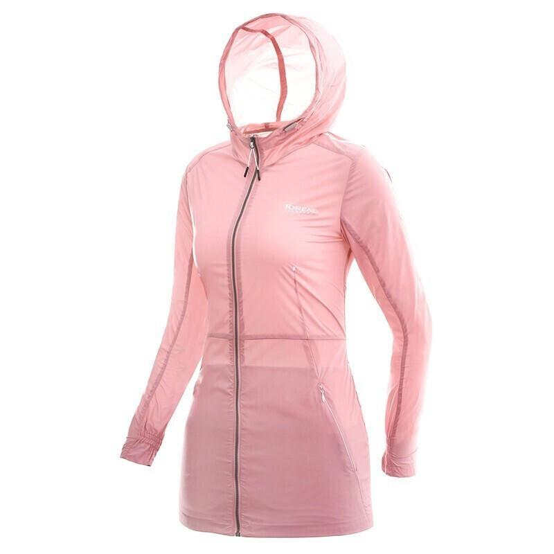 探路者 TOREAD 女子 户外运动服轻薄舒适透气休闲薄款夹克外套皮肤衣 TAEG82812-A54X TAEG82812-CA7X TAEG82812-D38X TAEG82812-E07X  TAEG82812-G02X