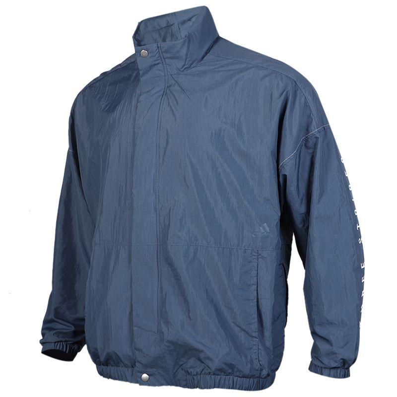 阿迪达斯 adidas S2S WOV JKT 男子 透气舒适防风休闲梭织夹克外套 ED1936