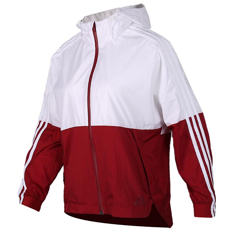 TZ  阿迪达斯 adidas  女子 梭织夹克 EH3853 + 运动梭织长裤 EH3847