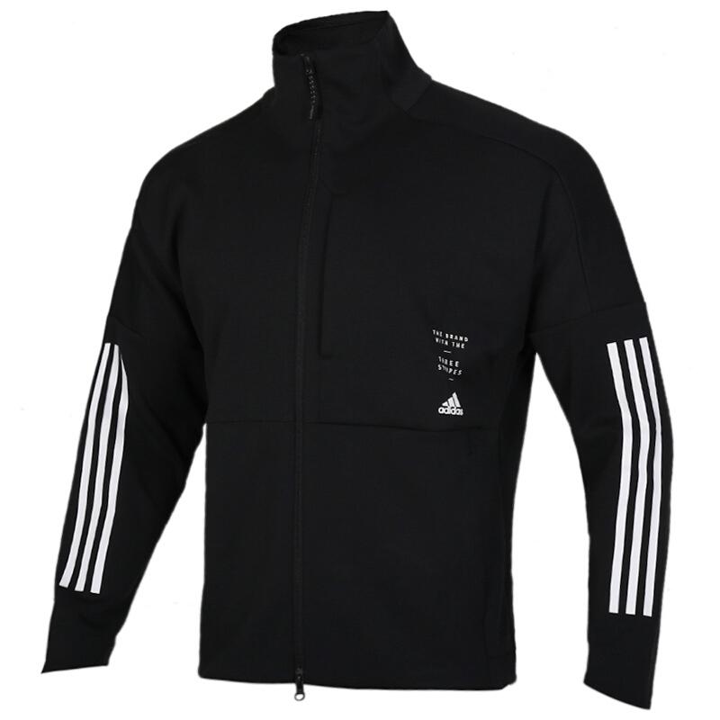 阿迪达斯 adidas ID WARM UP JK 男子 舒适透气时尚休闲夹克外套 ED1997