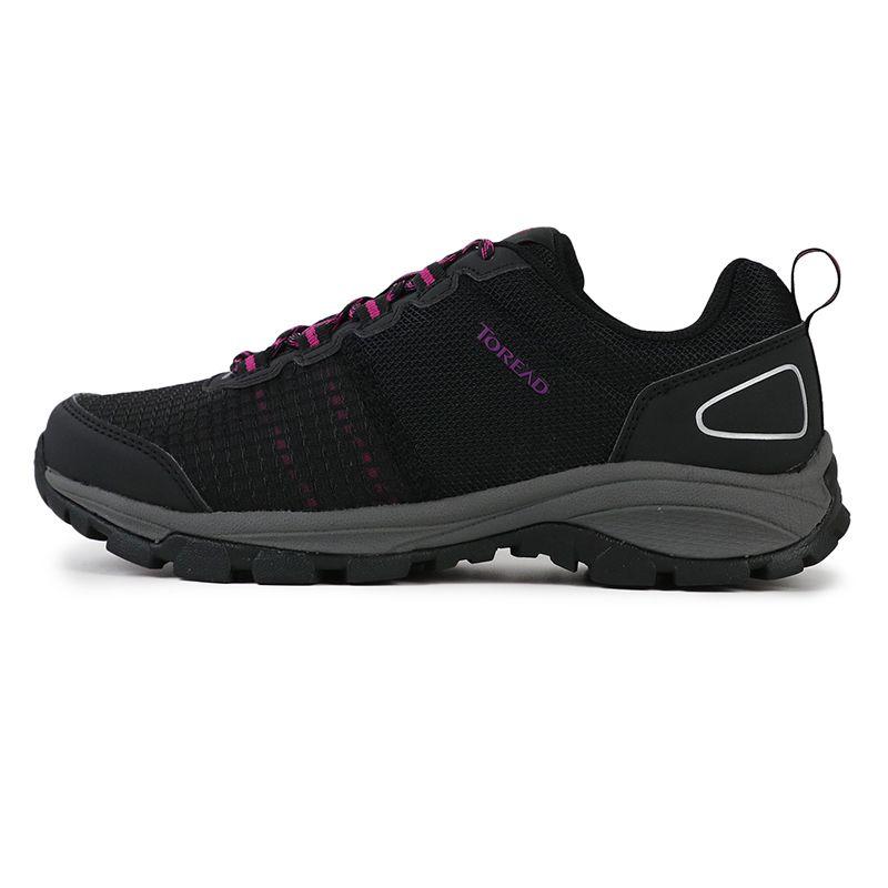 探路者 TOREAD 女子 户外运动登山越野防滑耐磨透气缓震鞋 KFAG92355-G01E