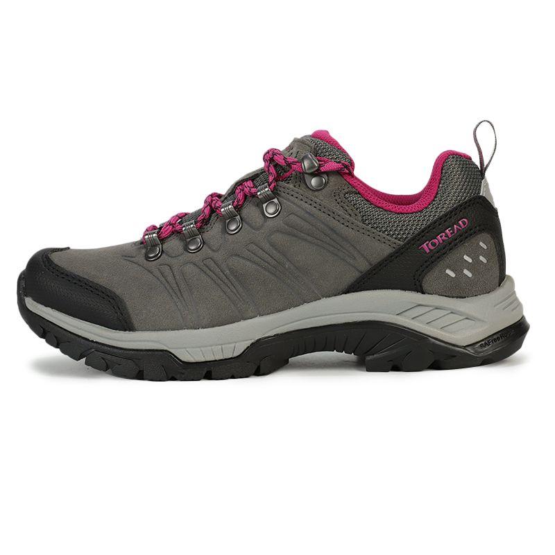 探路者 TOREAD 女子 户外运动越野耐磨透气慢跑徒步鞋 KFAG92351-G07E