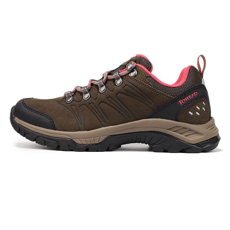 探路者 TOREAD 女子 户外防水透湿耐磨舒适徒步鞋 KFAG92351-G21A