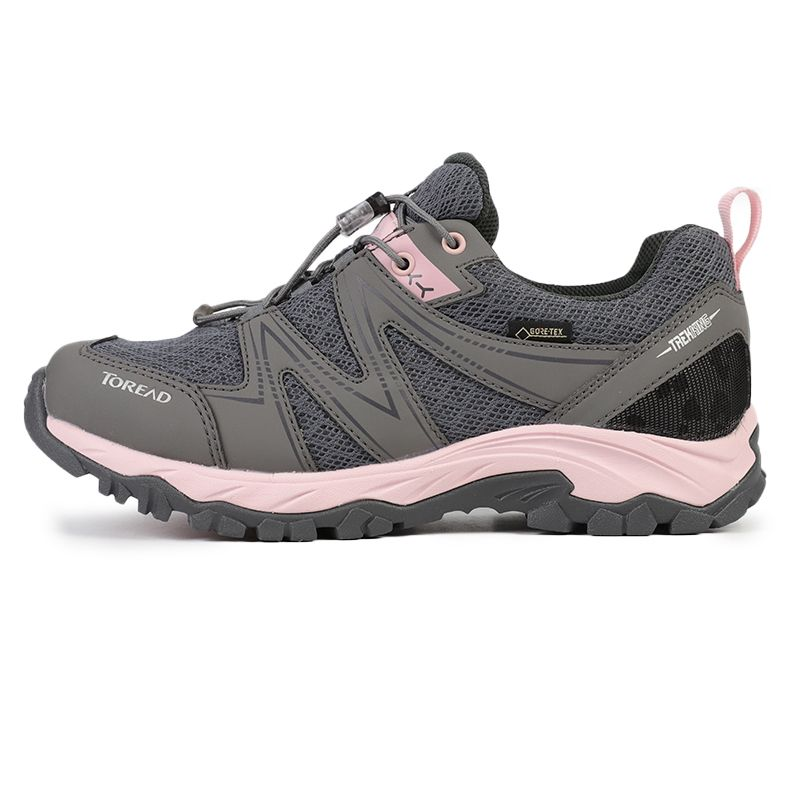 探路者 TOREAD 女子 户外运动鞋越野耐磨透气慢跑徒步鞋 KFAH82055-G07A