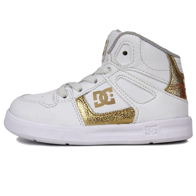 DC  儿童 舒适透气耐磨时尚潮流休闲鞋运动鞋 ADTS700053WG1