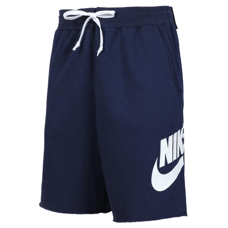 耐克 NIKE AS  NSW HE SHORT FT ALUMNI 男子 透气运动裤宽松五分裤舒适休闲短裤  AR2376-410