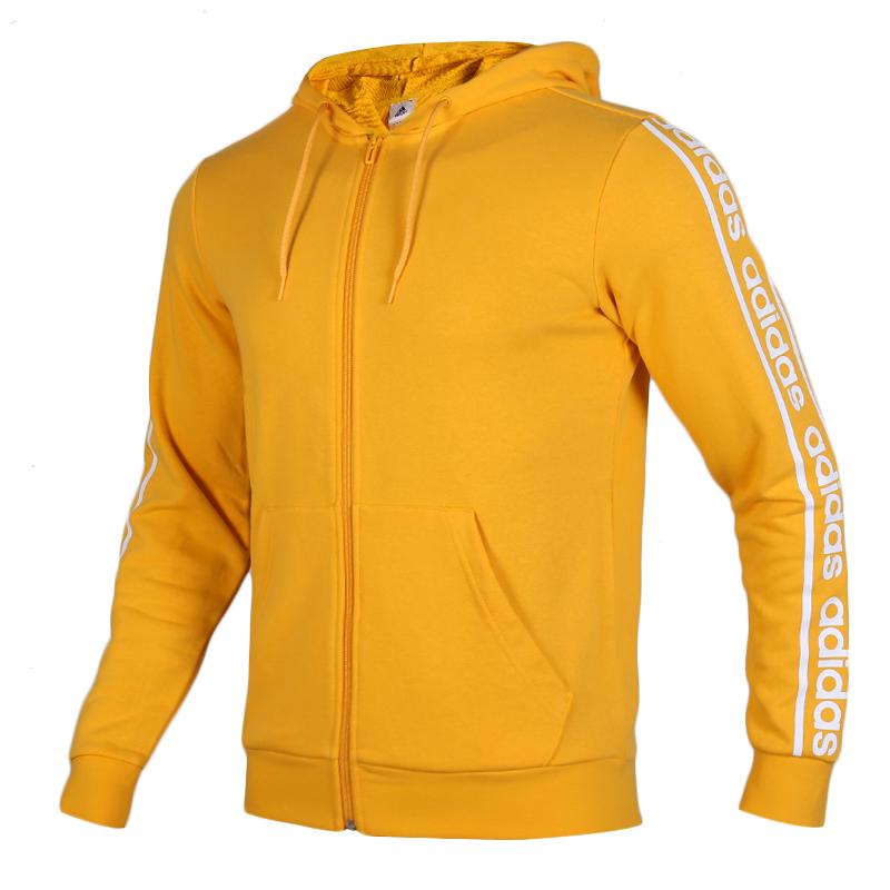 阿迪达斯 adidas C90 BRD FZ 男子 舒适防风连帽休闲外套针织夹克 EI5616
