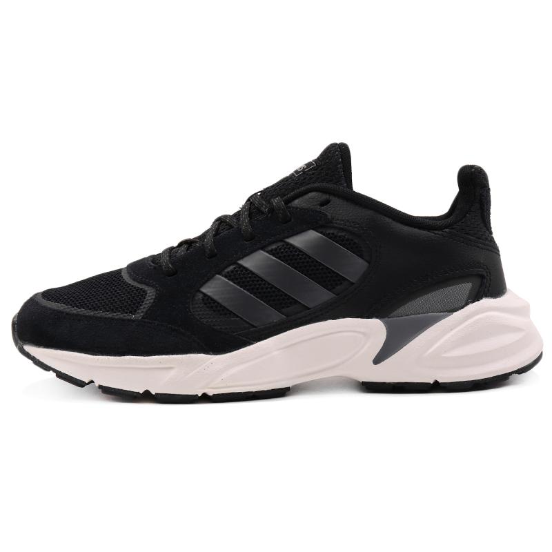 阿迪达斯 adidas 女子 休闲缓震耐磨舒适透气轻便跑步鞋 EE9906
