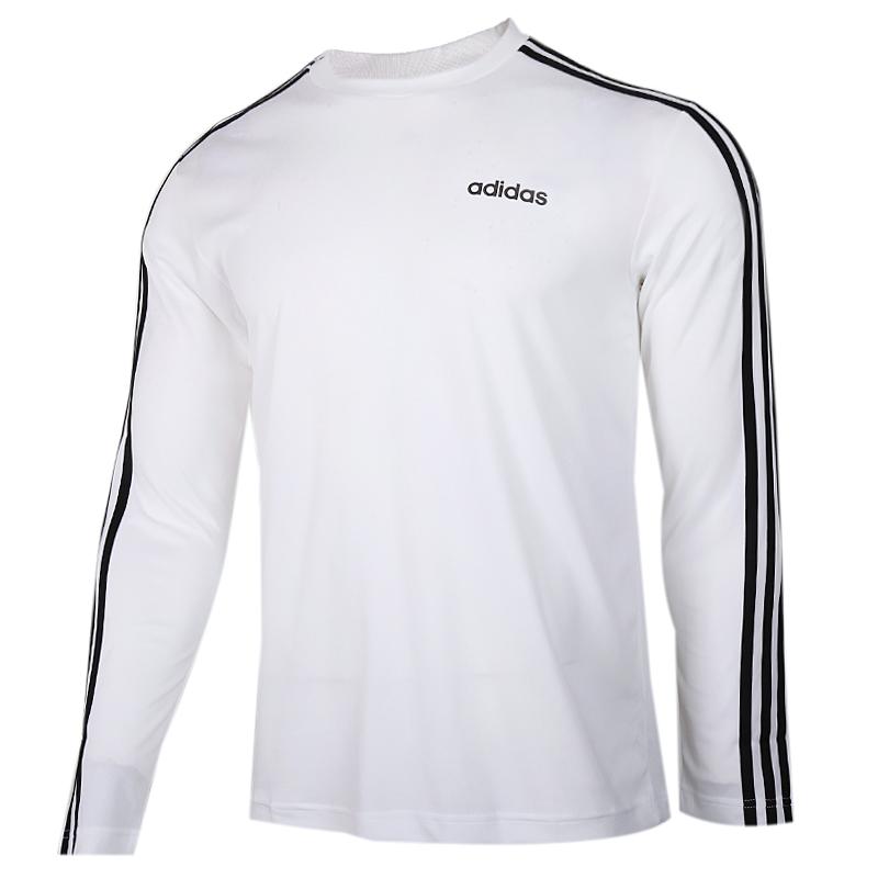 阿迪达斯 adidas 男子 透气圆领长袖T恤套头衫 EI5646