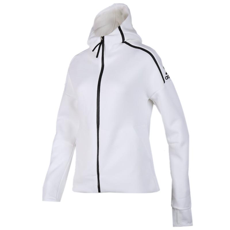 阿迪达斯 adidas Zne Hd FR 女子 舒适透气休闲运动服针织夹克外套 EK4324